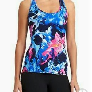 Athleta Watercolor Tank Size M